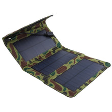 Load image into Gallery viewer, Solar Panel Outdoor Portable Phone Power Mobile USB  Hiking Accessories