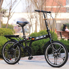 Load image into Gallery viewer, Quality Folding Men And Women Bicycle Front And Rear Disc