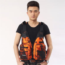 Load image into Gallery viewer, Buoyancy Life Jackets, Fishing  Vest