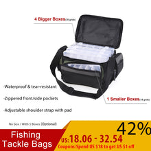 Load image into Gallery viewer, Waterproof Fishing Bag Multifunctional Fishing Tackle Bags