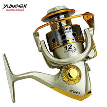 Load image into Gallery viewer, Hot  wheels fish spinning reel 5.5:1 12Ball Bearing