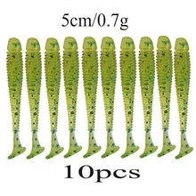 Load image into Gallery viewer, 10pcs/lot Wobblers Soft Bait