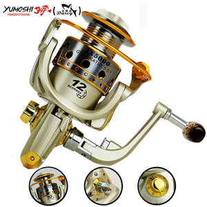 Hot  wheels fish spinning reel 5.5:1 12Ball Bearing