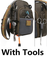 Load image into Gallery viewer, Fly Fishing Bag Chest Pack