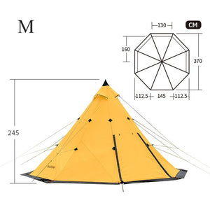 Waterproof Tepee Tents