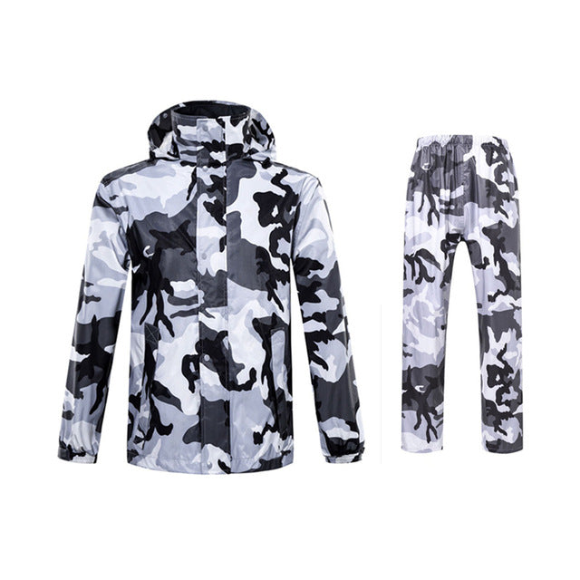 Adult Camouflage Raincoat Suit  Women/Men   Fishing And Hunting