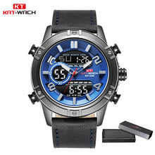 Load image into Gallery viewer, Sport Watch Man Quartz LED Digital Clock Waterproof