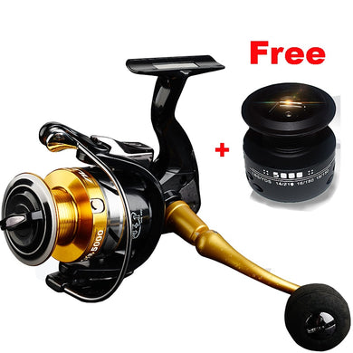 High Quality 14+1 BB Double Spool Fishing Reel