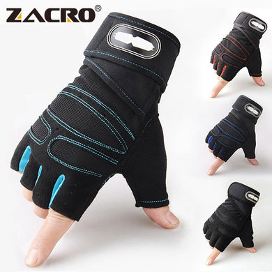 Zacro Fitness Weight Lifting Gloves Body Building Training Sports  for Men Women M/L/XL