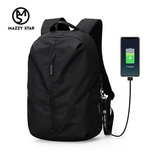 New Arrival USB Charging Laptop Backpack 15.6 inch Men and women