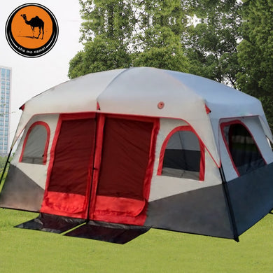 Outdoor 3-5 Persons  2 Room Camping Tent