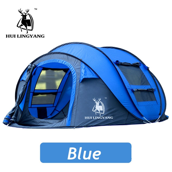 Outdoor 3-4 Person Automatic Tents Waterproof