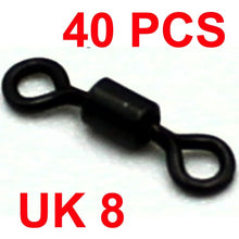 Load image into Gallery viewer, 40PCS Micro Swivels Rig Rolling swivels
