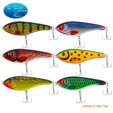 New Slow Sinking Artificial Hard JerkBait