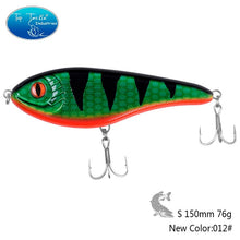 Load image into Gallery viewer, New Slow Sinking Artificial Hard JerkBait