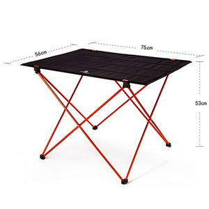 7075 Aluminium Alloy Table Chair Portable Folding