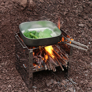 Camping Picnic Cookware Kit Pot