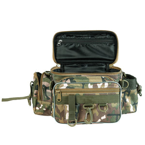 Multi-functional Pole Package 3 Layer Fishing Bag