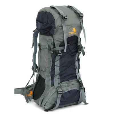 70L Waterproof Nylon Travel Backpack Rucksack