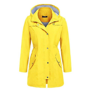 Long Raincoat Outdoor Overalls Waterproof Womens with pants