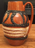 Sweet Scheurich 1970s lava glazed West German ceramic vase - Wowie Zowie  - 1