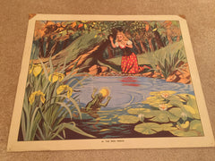 Delightful child educational prints by John. L. Baker 1940/50's - Wowie Zowie  - 1