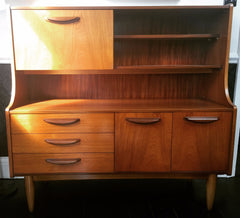 Absolutely fabulous mid century Danish style Teak Sideboard/Highboard
