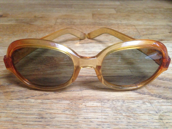 Perfectly Polaroid Smokey Amber Sunglasses - Wowie Zowie  - 1