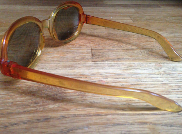 Perfectly Polaroid Smokey Amber Sunglasses - Wowie Zowie  - 2