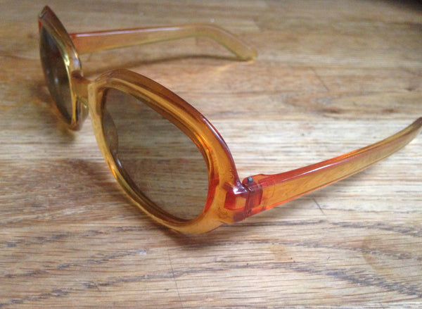 Perfectly Polaroid Smokey Amber Sunglasses - Wowie Zowie  - 3