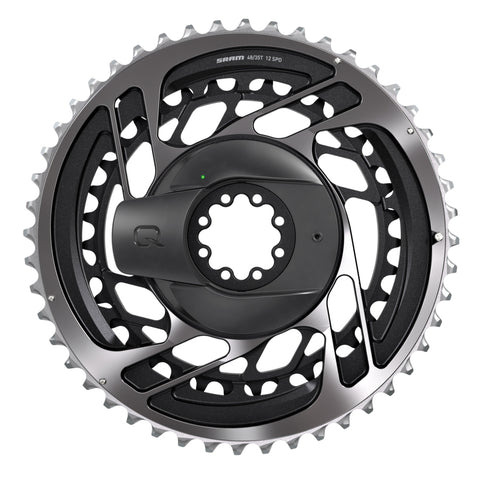 SRAM RED AXS D1 Power Meter Kit: Direct Mount 46/33T x 12-speed Chainring Set Polar Grey (Power Meter Including Chainrings)