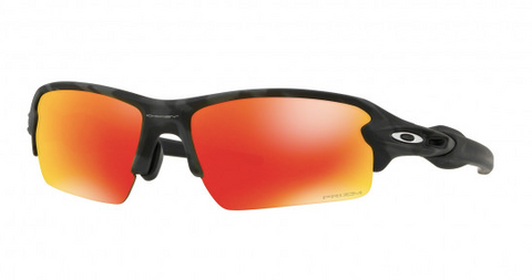 Oakley Flak 2.0 (A) Black Camo Prizm Ruby Sunglasses