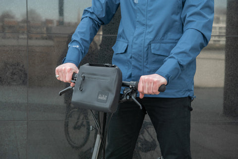 Brompton Metro Waterproof Pouch in Black