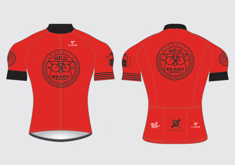Redbeard Men's Red Summer Jersey