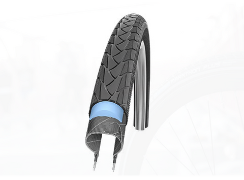 Schwalbe Marathon Plus Tire for Brompton Bikes 35-349 (16 x 1.35)
