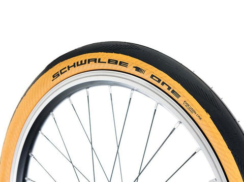 Schwalbe One Tanwall Tire for Brompton 35-349