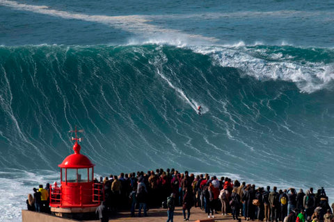 Nazare Biggest wave ever surfed in the world