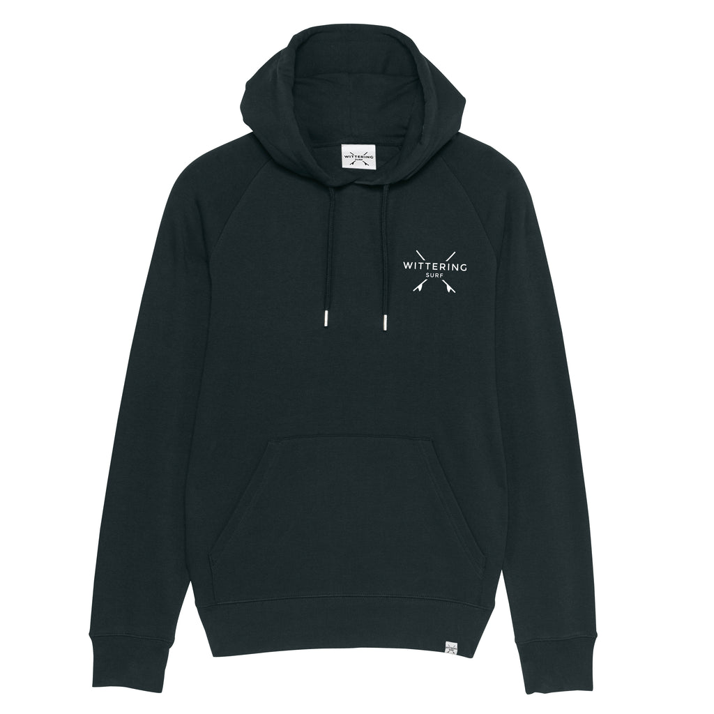 Men's Tide Hoodie – Black - Wittering Surf Shop