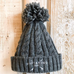 CHUNKY CABLE KNIT BEANIE - 6 COLOUR OPTIONS