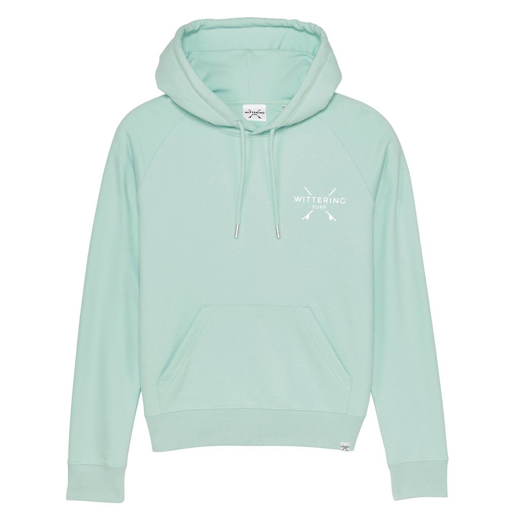 Low Tide Hoodie - Caribbean Blue - Wittering Surf Shop