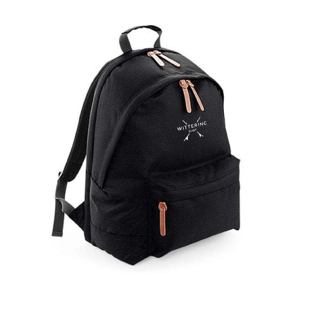 WITTERING SURF CAMPUS BACK PACK - BLACK