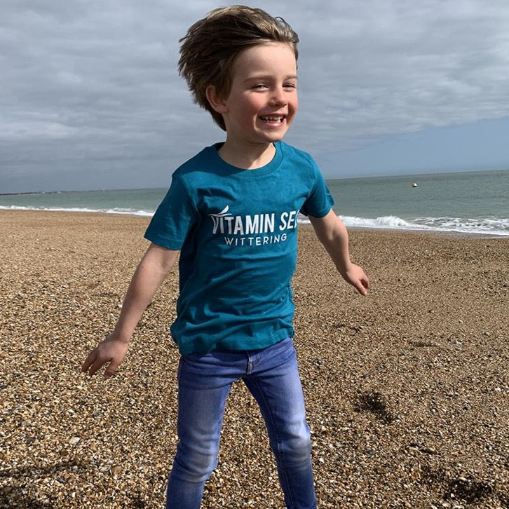 Kid's Vitamin Sea T-Shirt - Ocean Depth