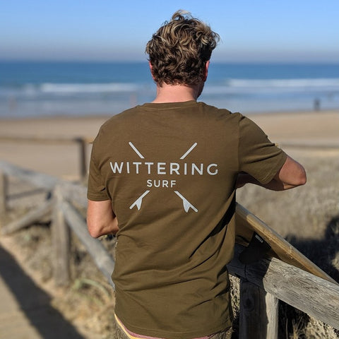 Everyday T-Shirt - Khaki - Wittering Surf Shop