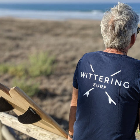 Men's Everyday T-Shirt - Navy - Wittering Surf Shop