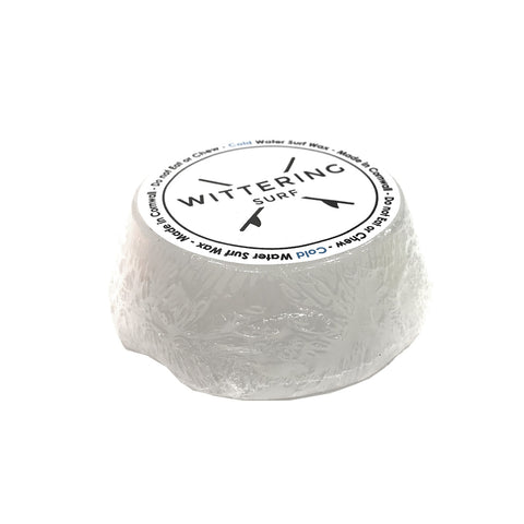 Wittering Surf Scented Cold Water Wax - White - Coconut - Wittering Surf Shop