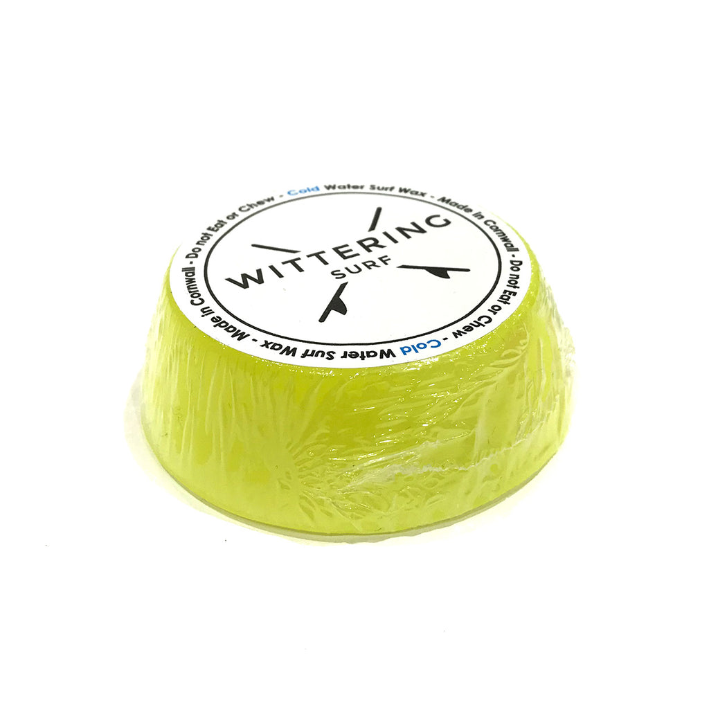 Wittering Surf Scented Cold Water Wax - Yellow - Banana