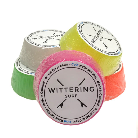 Wittering Surf Scented Cold Water Wax Pack (5 Bars) - Mixed - Wittering Surf Shop