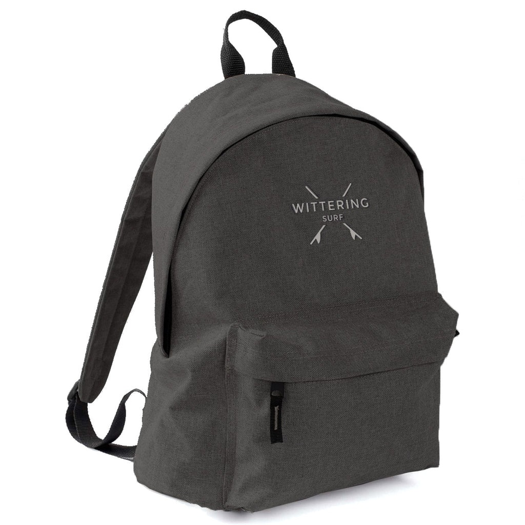 Wittering Surf Campus Backpack - Anthracite - Wittering Surf Shop