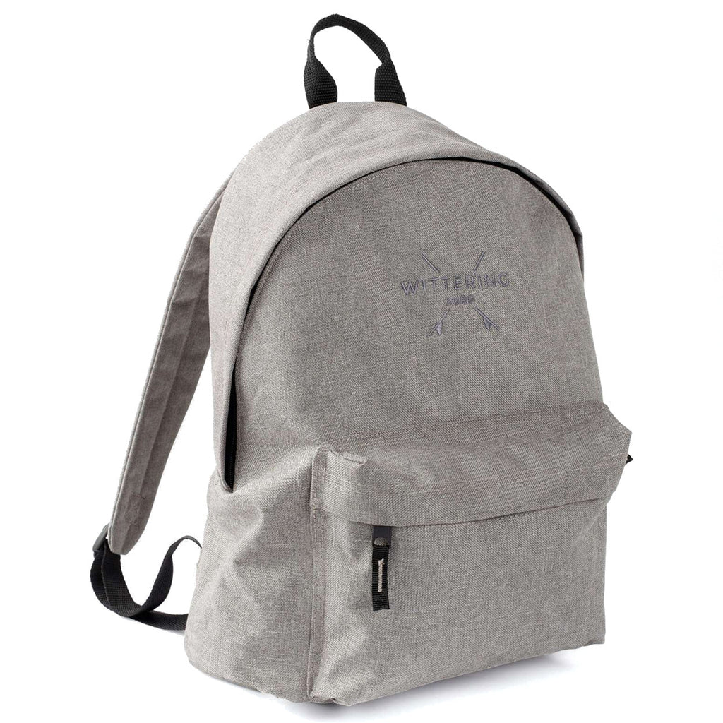 Wittering Surf Campus Backpack - Grey Marl - Wittering Surf Shop