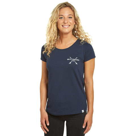 Ladies Everyday T-Shirt - Navy - Wittering Surf Shop